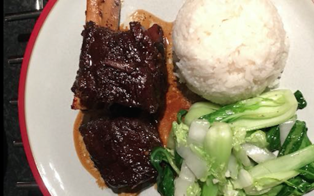 Kristina & Chris' Korean Sticky Short Ribs