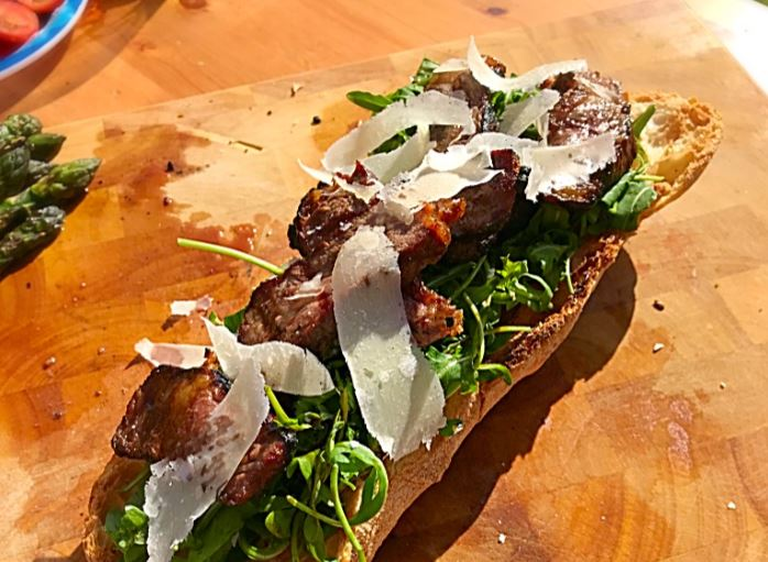 Ultimate Summer Steak Ciabatta