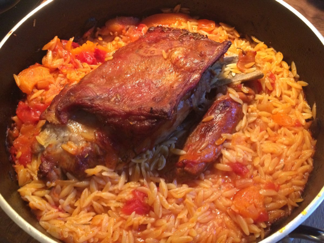Lisa's Lamb Stew with Orzo