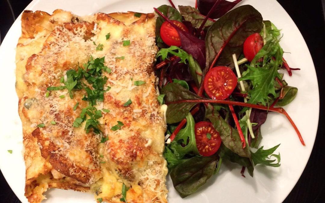 Lisa's Chicken & Pancetta Savoury Pancakes