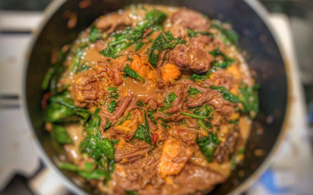 Jon's Jamaican Pepperpot Stew