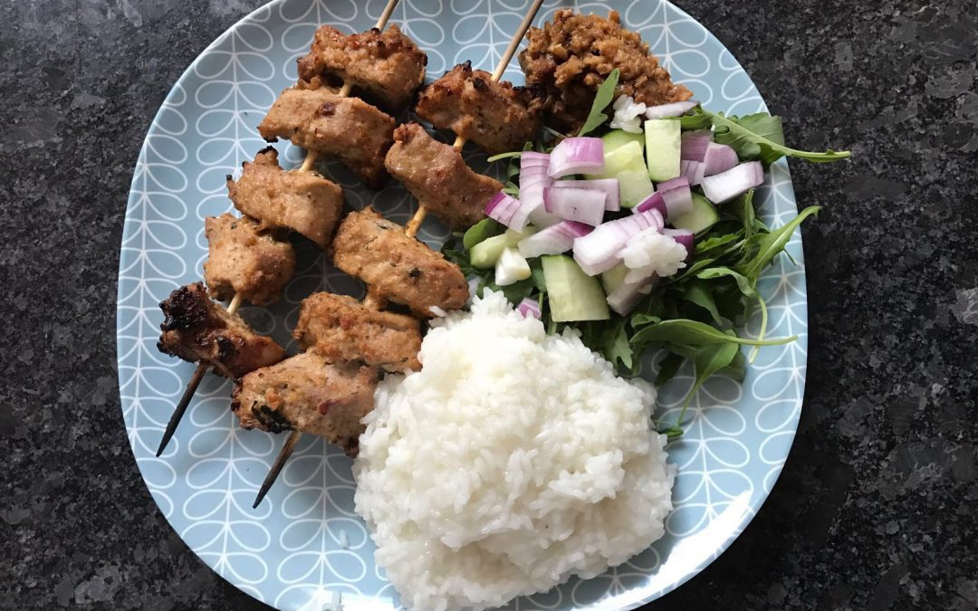 Mark's Indonesian Pork Satay