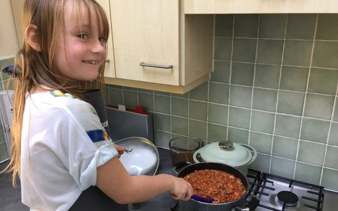 Lucy's Spaghetti Bolognese